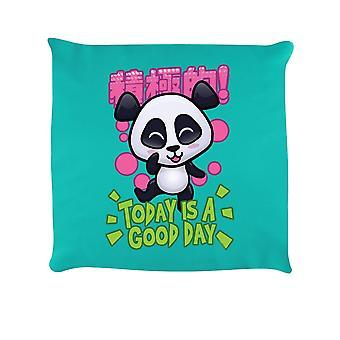 Handa Panda Today Is A Good Day Cushion