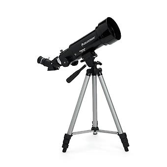 Celestron Travel Scope 70 Outfit Portable Telescope and Tripod Black