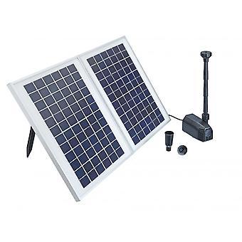 Pontec PondoSolar 1600 Solar Fountain Set