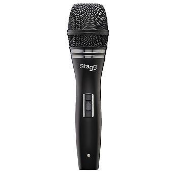 Micrófono dinámico cardioide profesional Stagg (modelo no. SDM90)