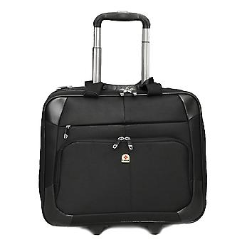 "Tassia grote wielen Laptop Case roller bag Pilot Case 15,6 ""laptop-overnachting compartiment-28 liter-Unisex"