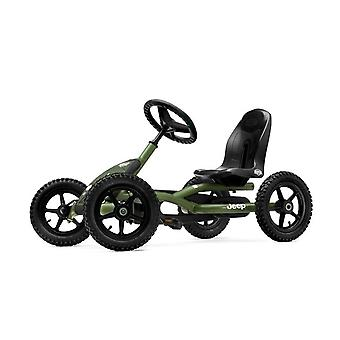 BERG Jeep Junior Pedal Go Kart Green