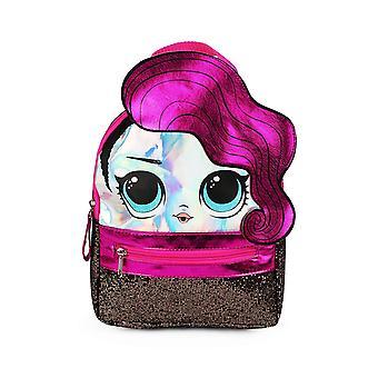 Мини рюкзак - LOL Сюрприз - Rocker Фиолетовый 10'quot; Новый 022461