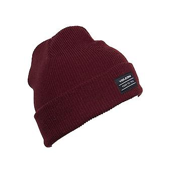 Volcom Cuff Beanie ~ Knowledge cabernet