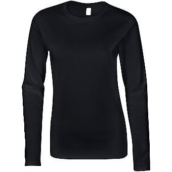 Gildan-Softstyle dame langærmet T-shirt til kvinder