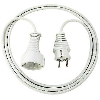 Brennenstuhl White plastic cable 2m H05VV-F 3G1,5 (DIY , Electricity)