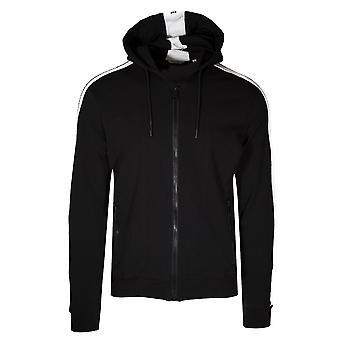 Antony Morato Sport czarna taśma ramię logo dresowe Top