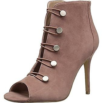 Charles by Charles David Womens Royalty Peep Toe Ankle Fashion Boots
