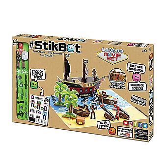 Stikbot Pirate Movie Set Children Fun Play Toy #s1060