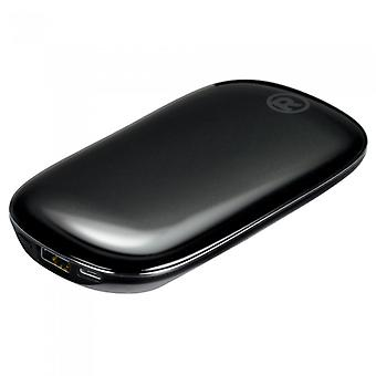 RadioShack POWER IT slim-style Portable Power Bank 5000mah - Schwarz