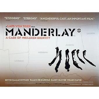 Manderlay (Double Sided) Original Cinema Poster