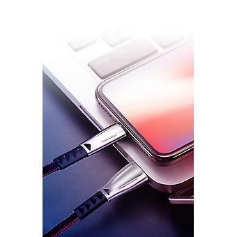 Kit Me Out USB Type C, 3.1 Amp USB C Fast Charge zinc Inlega Tessuto Intrecciato Cavo Intrecciato Compatibile con Berry KEY2 / KEY2 LE, Caricamento dati Sync Cable Cavo Cavo