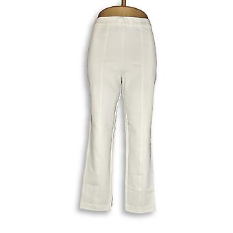 Joan Rivers Classics Collection Womens Pants Signature Ankle White A310589 PTC