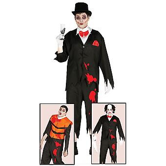 Mens Zombie Corpse Groom Costume de fantaisie Halloween