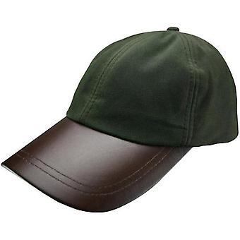Lederen Skip Wax Baseball Cap