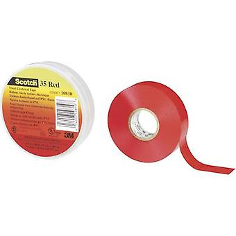 3M SCOTCHTM 35 80-6112-1156-8 Elektrisches Klebeband Scotch® 35 Rot (L x B) 20 m x 19 mm 20 m