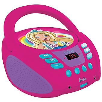 Lexibook Barbie radio CD-speler-roze (RCD108BB)