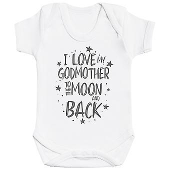 Ik hou van mijn GodMother naar de maan en terug Baby Romper
