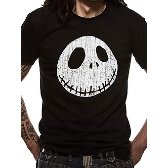 Disney Nightmare Before Christmas - Jack Cracked Face T-Shirt