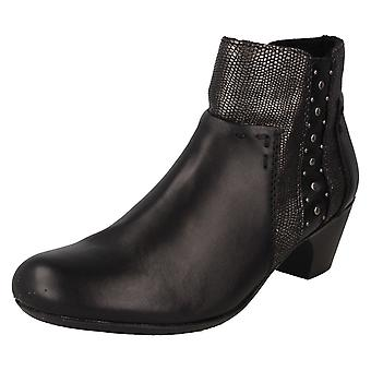 Botas de tornozelo 70571 das senhoras Rieker