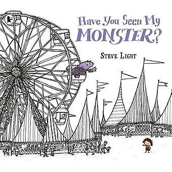 Heb je mijn monster door Steve Light gezien