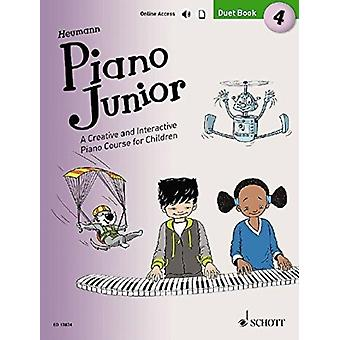 Piano Junior Duet Book 4 4  A Creative and Interactive Piano Course for Children by Hans G nter Heumann