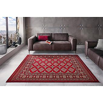 Oriental Court Flor Rug Sao Boukhara Rouge