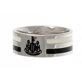 Newcastle United FC couleur unisexe Stripe Ring