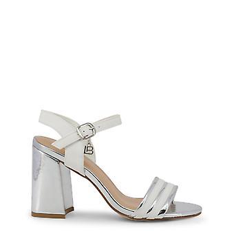 Laura biagiotti women's sandals, nabuk white