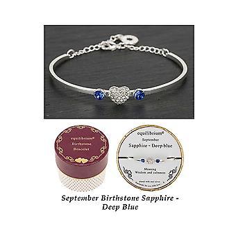 Equilibrium Birthstone Bracelet September