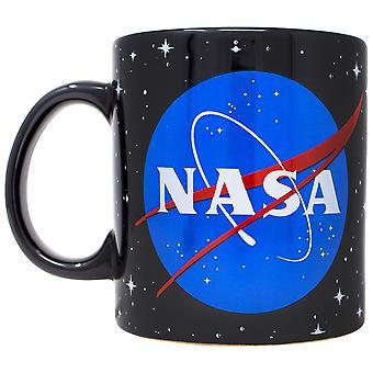 NASA Logo 20 Ounce Ceramic Mug