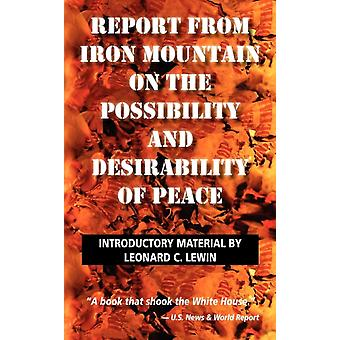 Report from Iron Mountain by Lewin & Leonard
