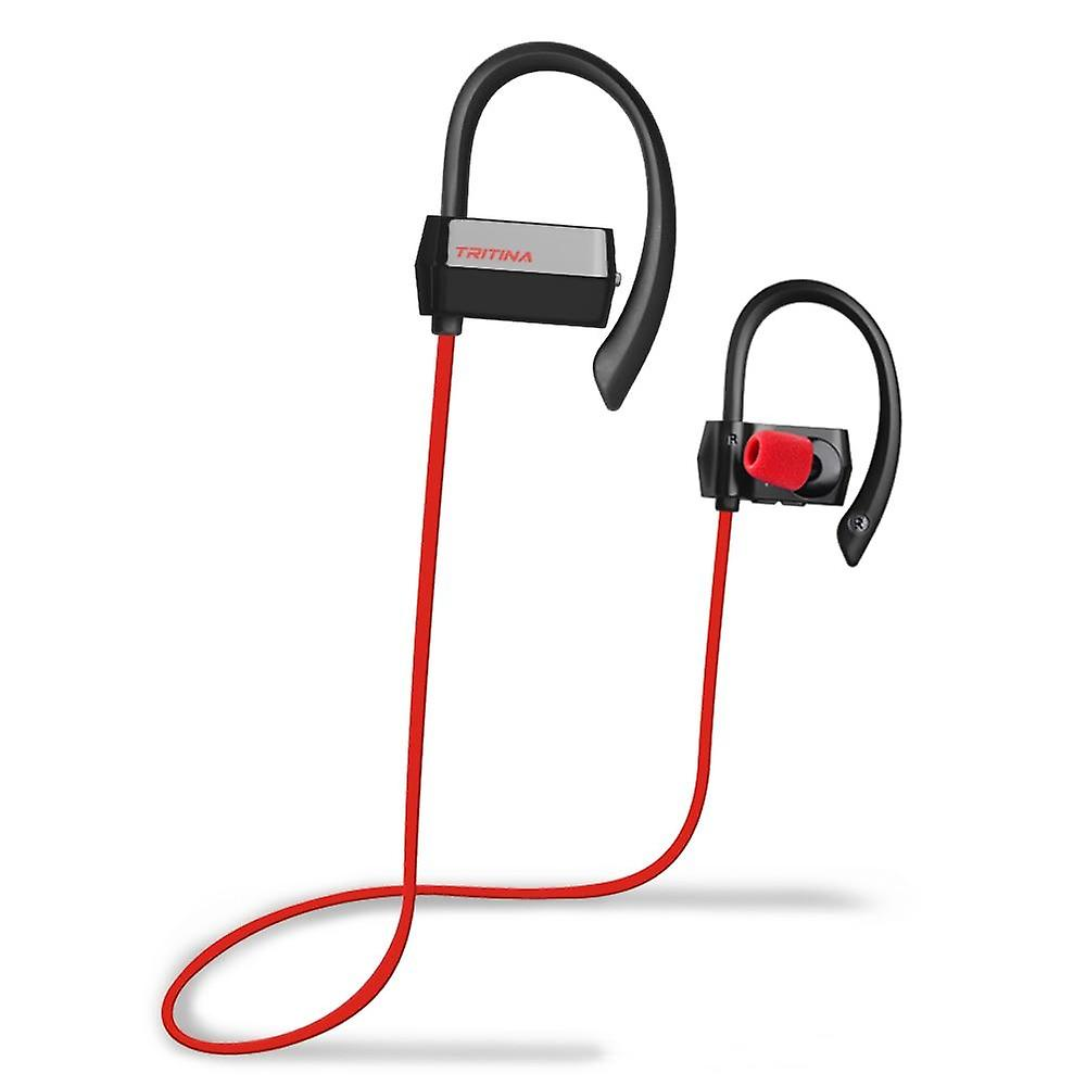 Sports earbuds, Sweat-proof Bluetooth Earphones w/ Mic, Comfortable Earbuds, HD Stereo for Fitness Running