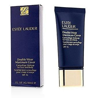Estee Lauder doble desgaste traje máximo de camuflaje maquillaje (cara & Cuerpo) Spf15 - #03 Creamyvanilla 30ml/1oz