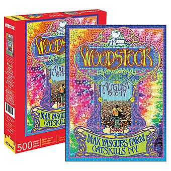 Woodstock - collage 500pc puzzle