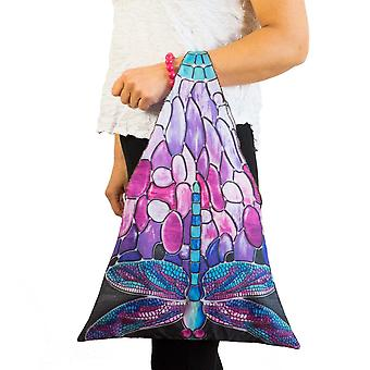 Tote tas motief Dragonfly Tiffany style