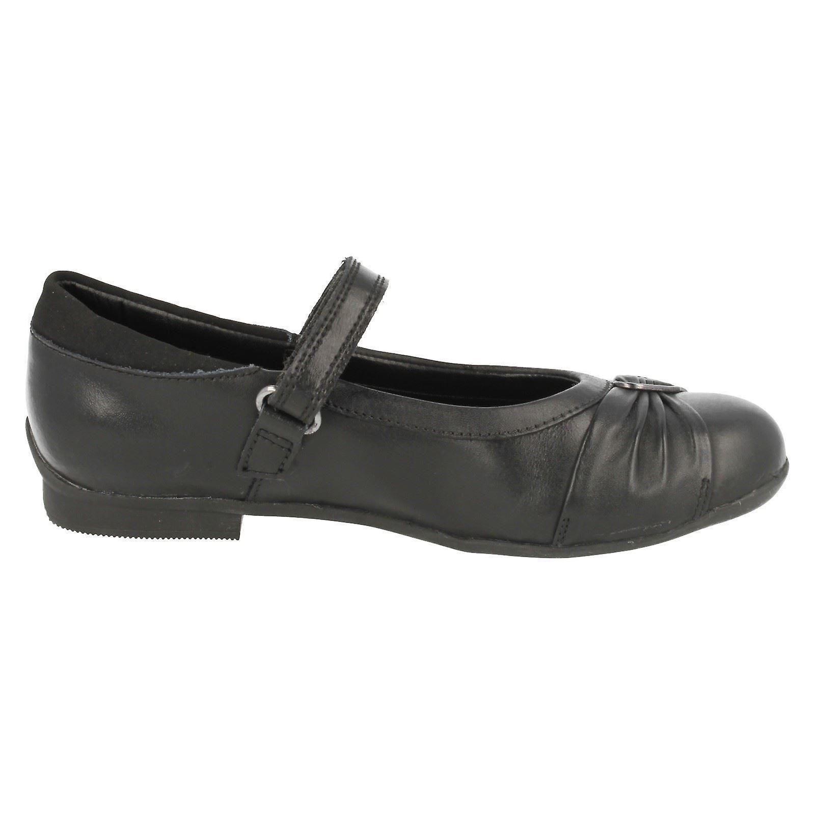 Meisjes Clarks schoenen van formele/School Dolly hart - Gratis verzending b9T41m