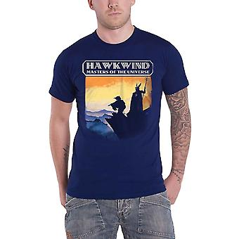 Hawkwind T Shirt Masters Of The Universe Band Logo new Official Mens