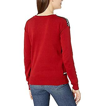 Netflix Women's Ugly Christmas Sweater, Upside Down/Red, Large