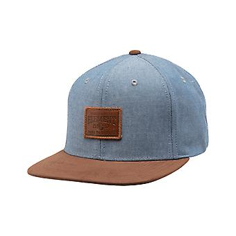Element Collective Cap i Blå Chambray
