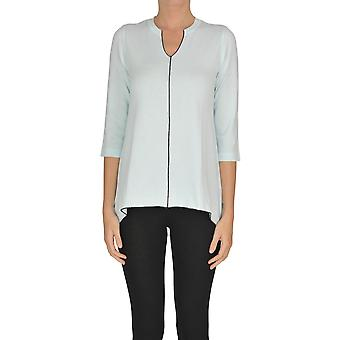 Alessandro Ezgl333024 Women's Light Blue Viscose Blouse