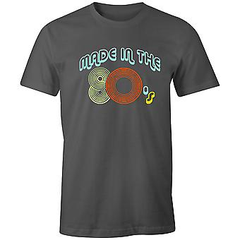 Boys Crew Neck Tee Short Sleeve Men-apos;s T Shirt- Made In The 80-apos;s