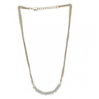 Nour London Ladies' Stone Detail Chain Necklace