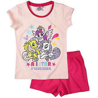 My little pony girls pyjama set pink