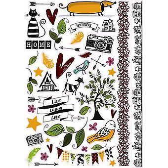 Pronty Scrap stickers A4 Fam.Stories 491.100.000 Door Raffzz