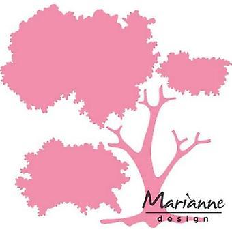 Marianne Design Sammlerstücke Schneidedies - Build-A-Tree Col1424 9.5x20 cm