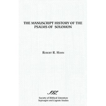 The Manuscript History of the Psalms of Solomon by Hann & Robert