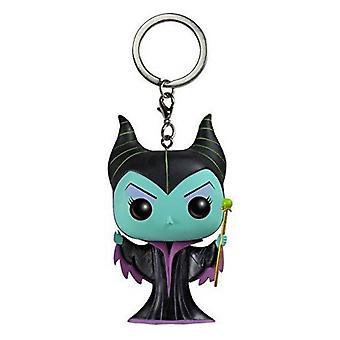 Törnrosa Maleficent Pocket pop! Nyckelring