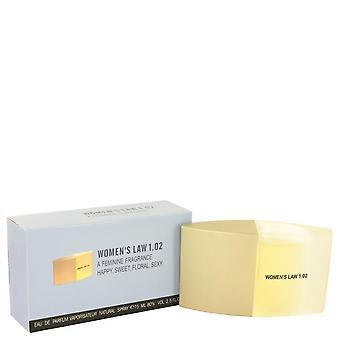 Women's law eau de parfum spray by monceau 423986 75 ml