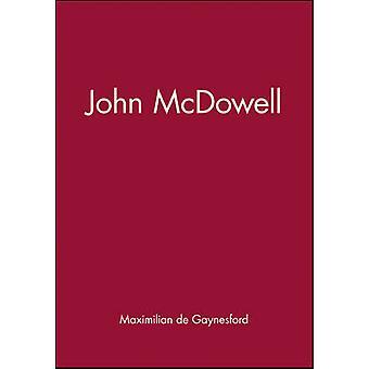 John McDowell by Maximilian de Gaynesford - 9780745630366 Book